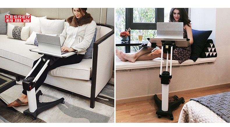 Product Name Invention Patent Kesrer 02 Multifunctional Laptop Desk Sofa Bedside Ps Stand Lazy Lift Mobile Computer Table