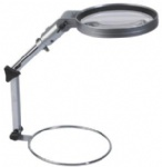 folding illuminated magnifier