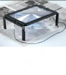 Stand magnifier with 4LED