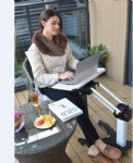 Invention Patent Kesrer 02 Multifunctional Laptop Desk Sofa Bedside PS Stand Lazy Lift Mobile Computer Table